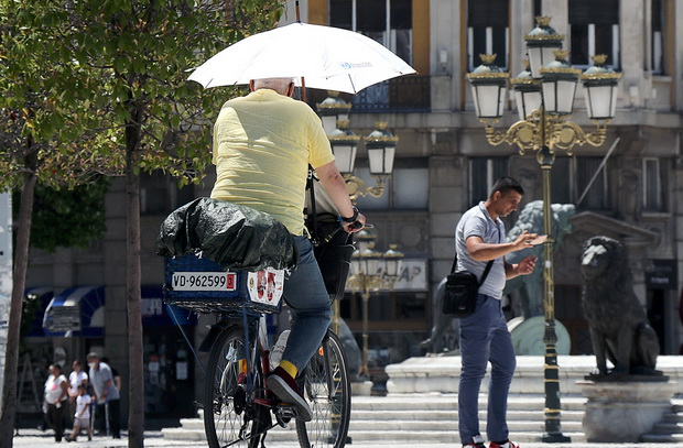 И ова е Скопје…пандемиско лето 2020