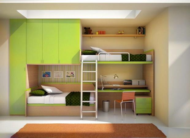 Кревети на спрат – детско катче со многу фантазија
