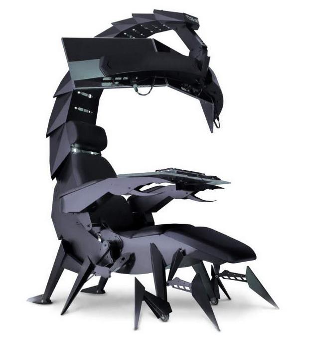 """Нова столица за гејмери """"Скорпиа"""" (видео)"""