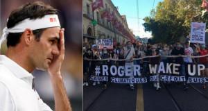 """""""Роџер, разбуди се""""- протест против Федерер во Швајцарија"""