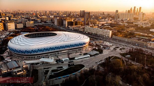 "Ултрамодерен мини-град во Москва – ""ВТБ Aрена Парк"""