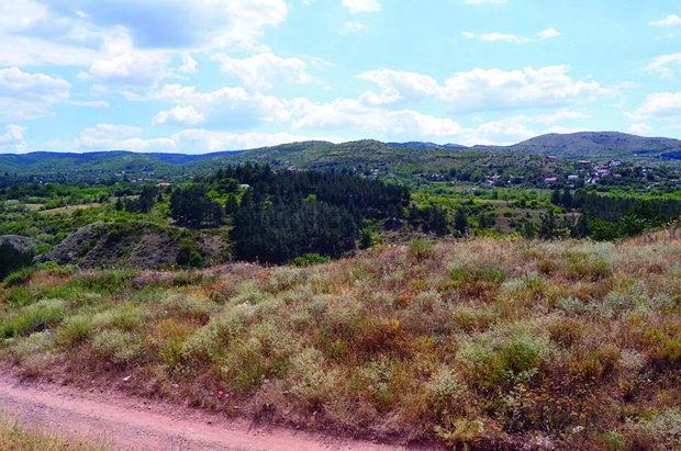 Lokacija na brana Otinja 1