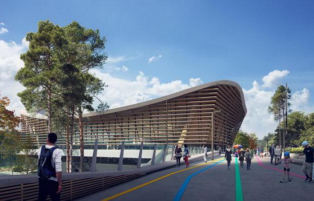 Центар за спортови на вода за Олимписките игри во 2024 година