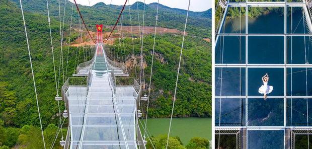 Најдолгиот стаклен мост на светот