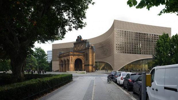 Музејот на егзил во Берлин се гради на местото на урната железничка станица