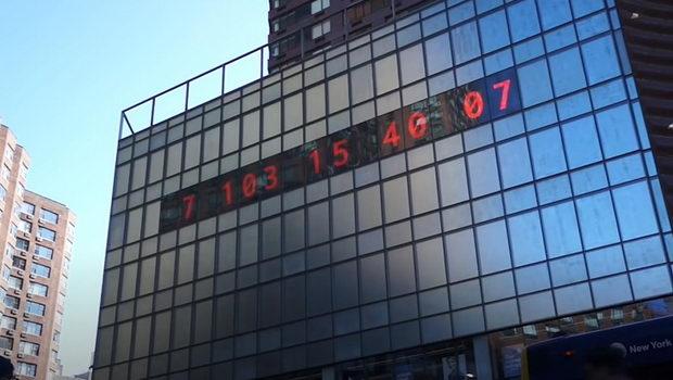 Поставен е климатски часовник кој потсетува колку време ни останува да ја спасиме планетата Земја