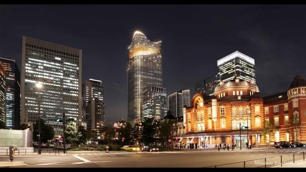Облакодер инспириран од факел станува највисока зграда во Јапонија