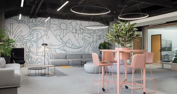 Деловен простор инспириран од Калемегдан и зоолошката градина