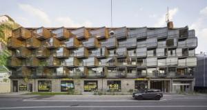 Зграда во Данска трансформирана во вистинска градска убавица