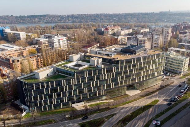 Научно-технолошкиот парк во Нови Сад, паметна и зелена зграда