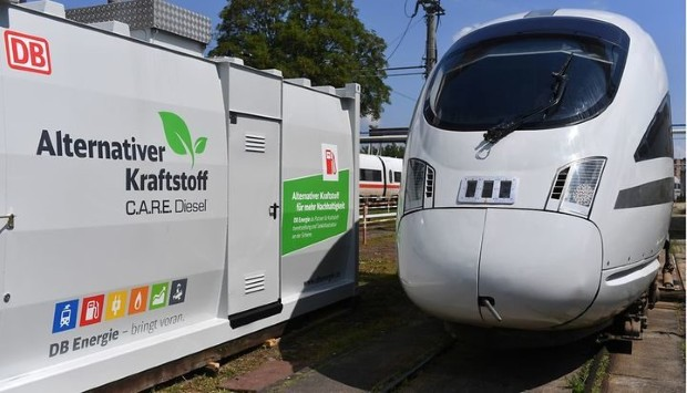 Deutsche Bahn тестира воз на еко дизел