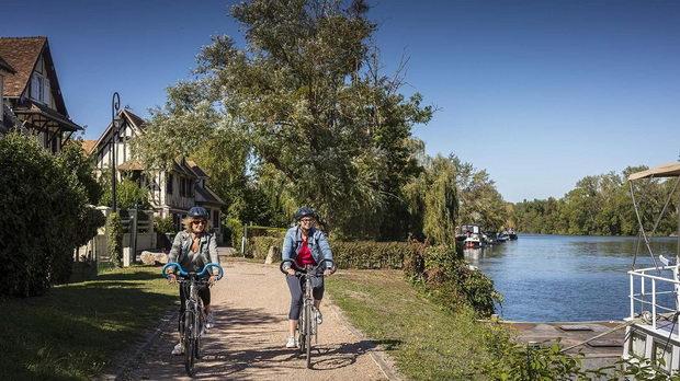 Велосипедска патека од 430 километри што го поврзува Париз со Довил