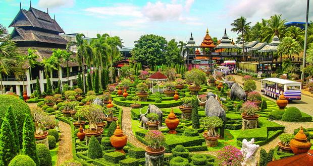 Градина на Тајланд – резултат на страст и ентузијазам на еден брачен пар