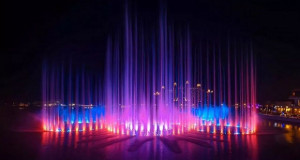 Најголемата фонтана во светот подготвена за отворање