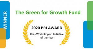 """Фондот за зелен развој добитник на наградата """"Принципи за одговорно инвестирање"""""""