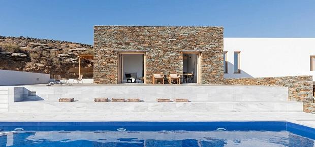 Типична грчка куќа во модерен дух