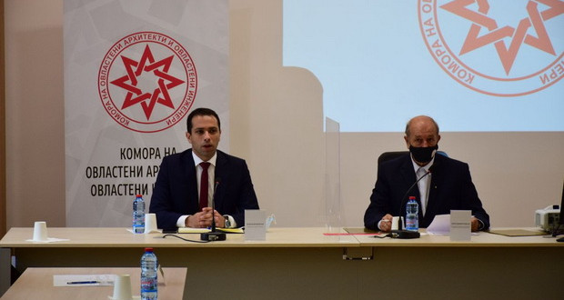 Министерот Бочварски се сретна со Комората на овластени архитекти и инженери