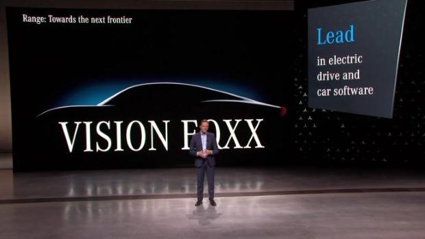 """""""Мерцедес"""" го развива најефикасниот електричен автомобил во светот"""