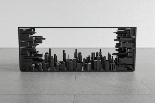 Панорама на град во маса