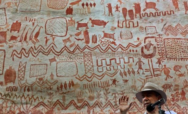 """Во срцето на амазонската прашума пронајдена """"Античката сикстинска капела"""" стара над 12 000 години"""