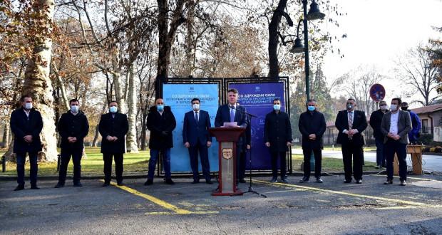 Скопските градоначалници со здружени сили во борбата против нередот и загадувањето