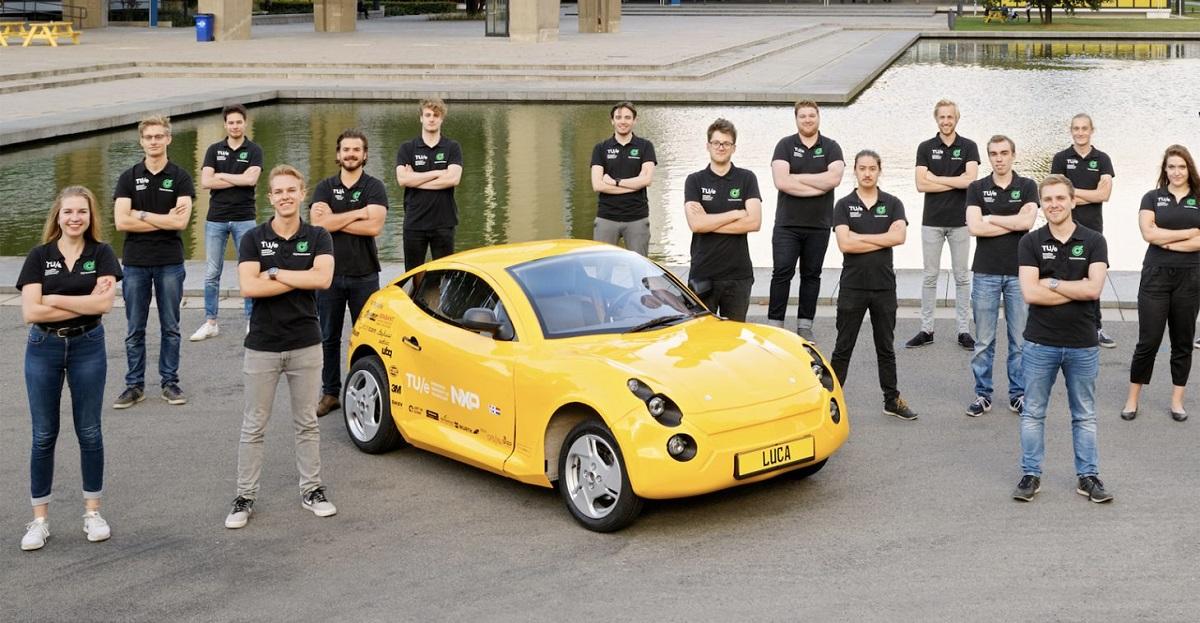 Електричен автомобил од рециклиран отпад