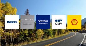 Daimler, IVECO, Volvo, Shell и OMV подготвуваат масовно воведување на камиони на водород