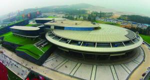 """Во Кина зграда во облик на вселенски брод """"Ентерпрајз"""" од """"Ѕвездени патеки"""""""