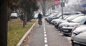 Нова велопатека на улицата Никола Парапунов