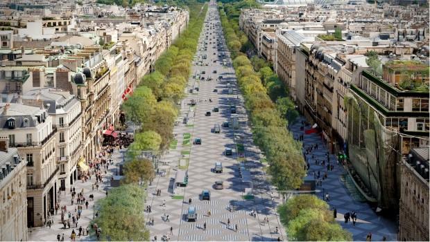 """Авенијата """"Елисејски полиња"""" – градина во центарот на Париз"""