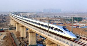 Во Кина се наоѓаат две третини од вкупната должина на брзи пруги во светот