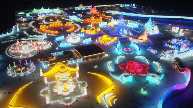 Фестивал на мразот и снегот во Кина