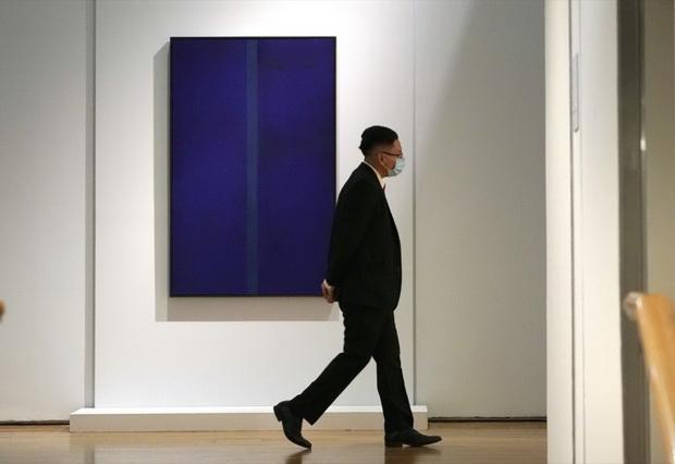 US-ART-AUCTION-CHRISTIE'S