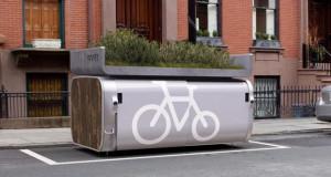 Onnee Minibike, паркинг за велосипеди за трансформација на Њујорк