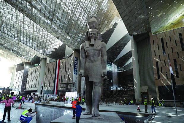 Najocekuvani gradbi na 2021-Muzej Giza vo Egipet-4