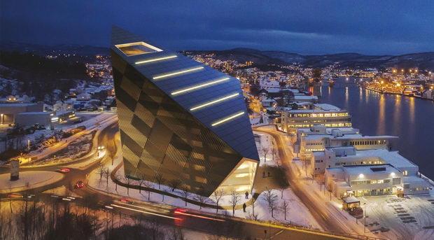 Najocekuvani gradbi na 2021-Powerhouse Telemark-Norveska-1