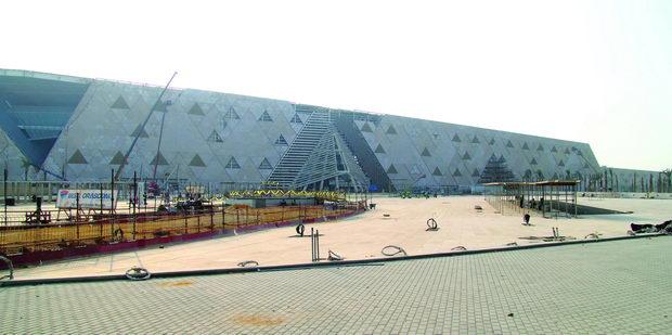 Najocekuvani gradbi na 20210-Muzej Giza vo Egipet-1