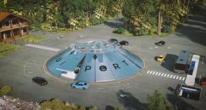 Се гради првиот аеродром за летачки автомобили