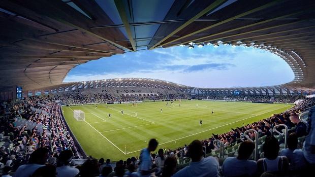 Првиот дрвен стадион во светот доби зелено светло за изградба