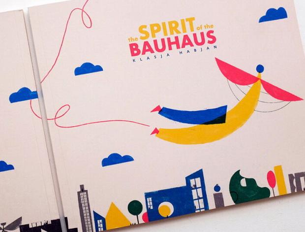 Наследството на Баухаус претворено во стрип