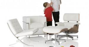 Иконичен мебел реплициран за деца