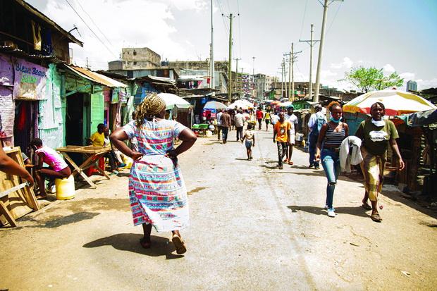 COVID-19 Prevention in Slums