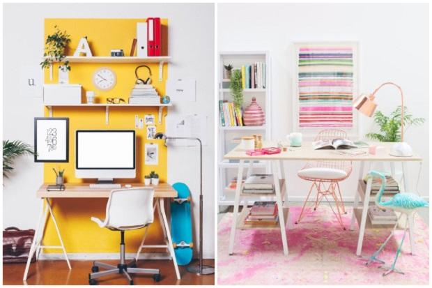 Пролетно уредување на домашната канцеларија