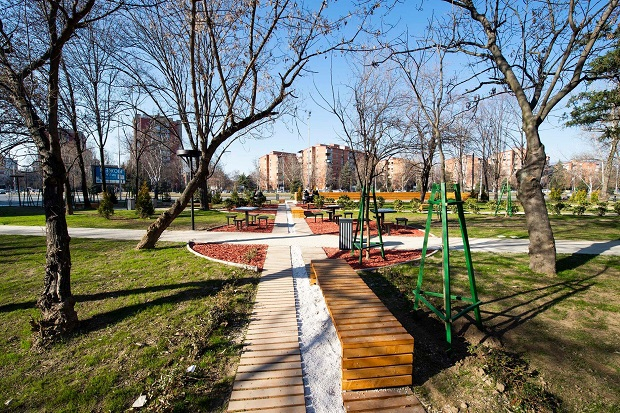 Град Скопје уреди нов зелен сквер во Аеродром