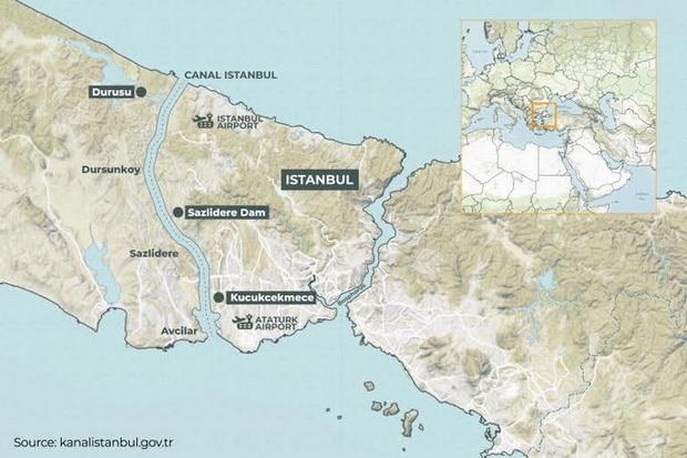 Ќе започне изградбата на каналот кој ги поврзува Црното и Марморното море