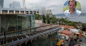 Федерер предизвика гнев кај швајцарците: Гради луксузна вила и го загади езерото (видео)