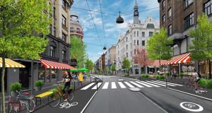 Од фреквентна градска улица до пријатна зелена оаза