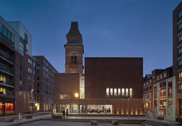 Building: The Halle Location: Ancoats, Manchester Architect: Stephenson Studio