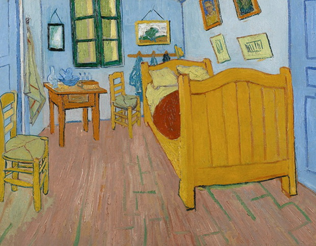 Како денес би изгледале собите од шест познати слики на славни сликари