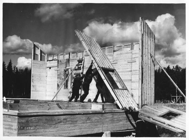 Венециско Биенале 2021: Финскиот павилјон ја презентира историјата на префабрикуваните дрвени бараки